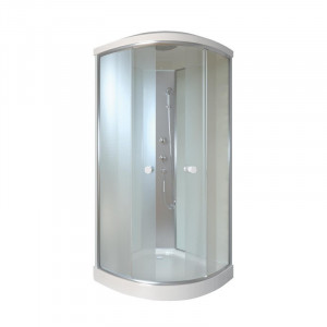 Гидробокс на мелком поддоне Q-Tap QTSB80801SAT