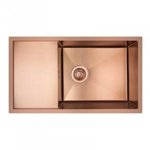 Кухонна мийка з нержавіючої сталі Imperial D7844BR PVD bronze Handmade 3.0/1.2 mm