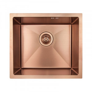 Кухонна мийка з нержавіючої сталі Imperial D4843BR PVD bronze Handmade 2.7/1.0 mm