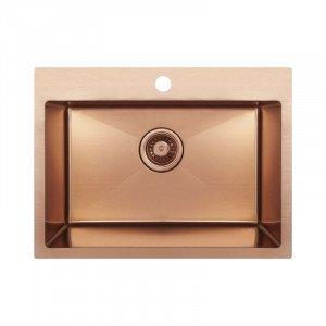 Мойка кухонная Imperial D5843BR PVD bronze Handmade 2.7/1.0 mm