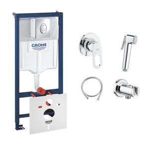 Комплект Grohe инсталляция Rapid SL 38721001+гигиенический душ BauLoop 111042