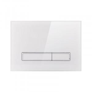 Панель смыва для унитаза Q-tap Nest PL M08GLWHI