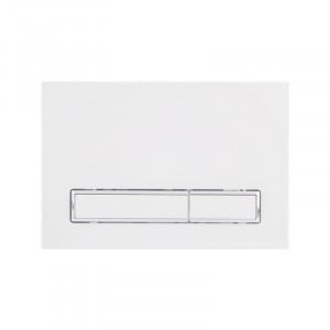 Панель смыва для унитаза Q-tap Nest PL M08WHI