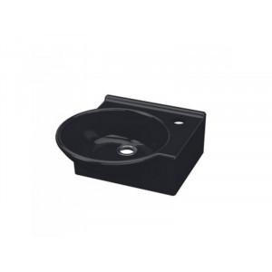 Раковина Idevit Myra Mini 36 см с отверстием справа 0201-0365-07, черная