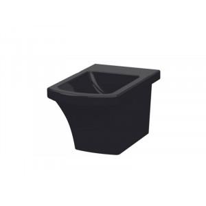 Биде напольное черное Idevit Vega 2806-0305-07