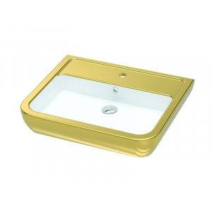 Раковина Idevit Halley 60 см 3201-0455-11, золотая