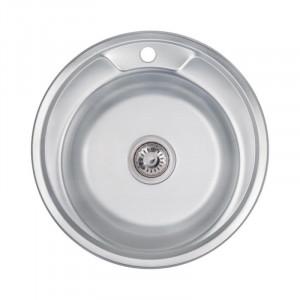 Кухонная мойка 490-A Decor (0,8 мм)