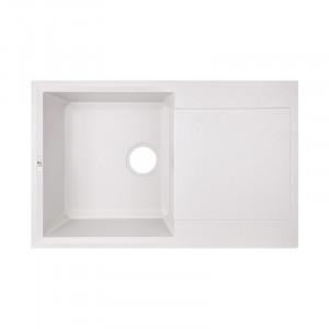 Кухонная мойка Lidz 790x495/230 WHI-01 (LIDZWHI01790495230)