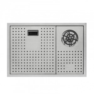 Кухонная мойка Qtap DC5638 Satin 3.0/1.2 мм (QTDC56383012) с крышкой