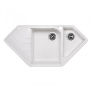 Кухонная мойка Lidz 1000x500/225 WHI-01 (LIDZWHI011000500225)