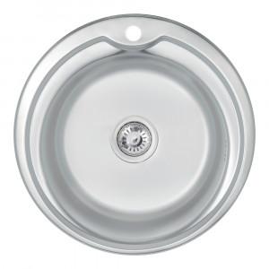 Кухонная мойка 510-D Satin (0,6 мм)