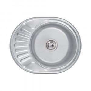Кухонная мойка 6044 Decor (0,6 мм)