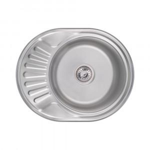 Кухонная мойка 6044 Satin (0,8 мм)