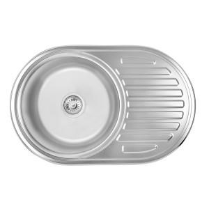 Кухонная мойка 7750 Satin (0,8 мм)