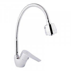 Смеситель для кухонной мойки LIDZ (CRM) -20 38 008 04