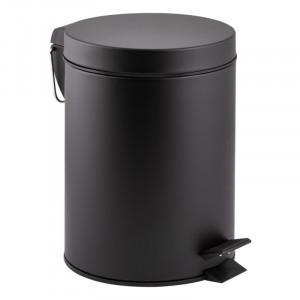 Ведро для мусора черное Qtap Liberty BLM 1149