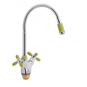 Смеситель для кухни Lidz (GCR) 74 18 273F-4 с рефлекторным изливом