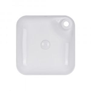 Раковина-чаша Qtap Stork 430x430x120 White с донным клапаном QT15112194W