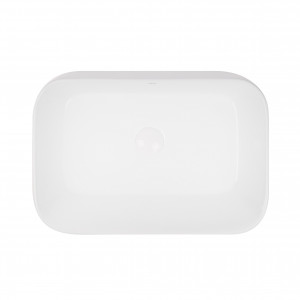 Раковина-чаша Qtap Scorpio 550х390х120 White с донным клапаном QT14112243W