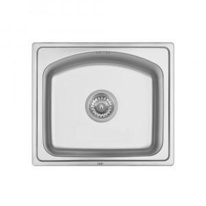 Кухонная мойка Qtap 4842 0,8 мм Satin (QT4842SAT08)