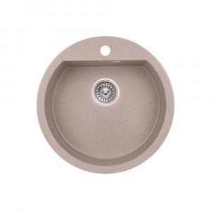 Кухонная мойка Qtap CS D510 Beige (QTD510BEI551)