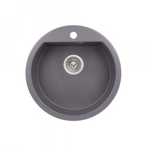 Кухонная мойка Qtap CS D510 Grey (QTD510GRE471)