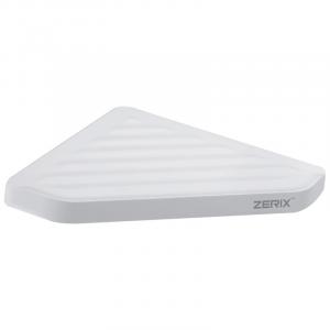 Полка угловая пластиковая Zerix A8021 (ZX2815)