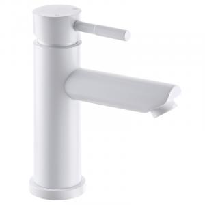 Смеситель для умывальника Mixxus SUS-001-A белый (из нерж.стали) (MI2802)