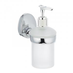 Дозатор для жидкого мыла настенный (стекло) Zerix LR3327 (LL1450)