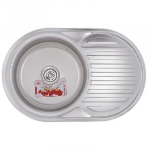 Мойка кухонная ZERIX Z7750-06-180MD micro decor ZS0564