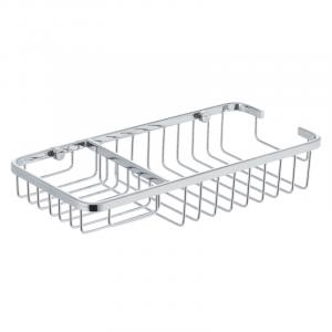 Полка-решетка с мыльницей Zerix LR337 (LL1455)