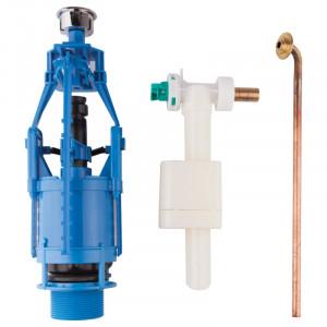 Зливний/наливний механізм для унітазу Azzurra Prua B19002F40