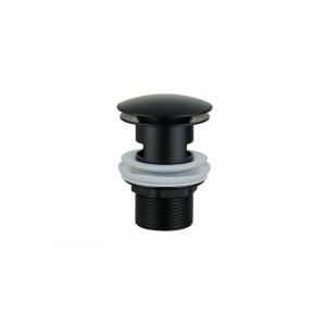 Донный клапан черный с переливом Asignatura 45511902