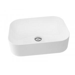 Раковина из искусственного камня Asignatura Delight 50 белая матовая 75721604