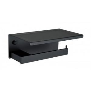 Держатель для туалетной бумаги Asignatura Unique черный матовый 85606802