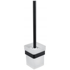 Щетка для унитаза с держателем Asignatura Unique черный матовый 85609802