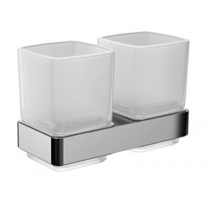 Стакан двойной для зубных щеток Emco Loft 0525 001 00