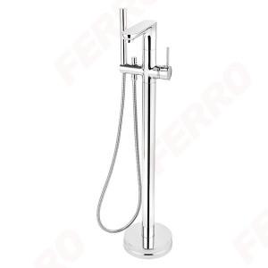 Смеситель для ванны напольный Ferro Fiesta BFI11F