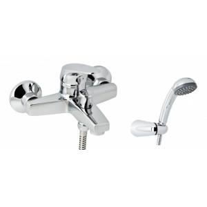Смеситель для ванны GENEBRE K8, с душевым гарнитуром 60100 28 45 66