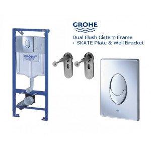 Комплект для унитаза Grohe Rapid SL 38721001