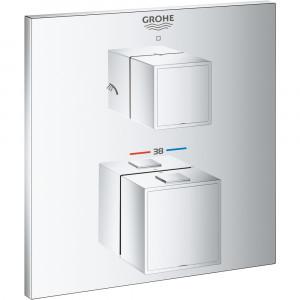 Термостат для душа скрытого монтажа Grohe Grohtherm Cube 24154000