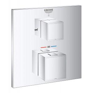 Термостат для ванны скрытого монтажа Grohe Grohtherm Cube 24155000