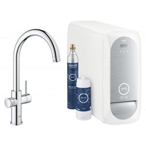 Змішувач для кухні з підключенням до фільтру Grohe Blue Home 31455001