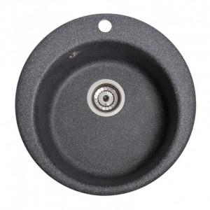 Кухонна мийка гранітна Galati Eva Grafit 3401