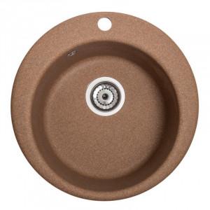 Кухонна мийка гранітна Galati Eva Teracota 3404