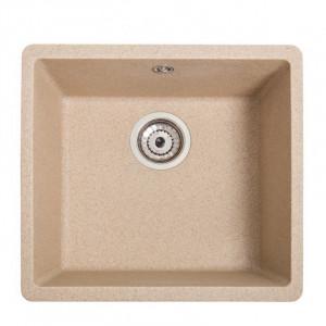 Кухонна гранітна мийка під стільницю Galati Mira U-400 Piesok 3405