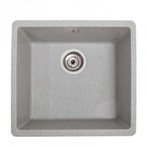 Кухонна гранітна мийка під стільницю Galati Mira-U-400 Seda 3408