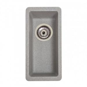Кухонна гранітна мийка під стільницю Galati Mira U-160 Seda 3415