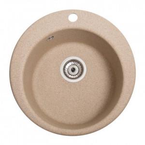 Кухонна мийка гранітна Galati Eva Piesok 9655