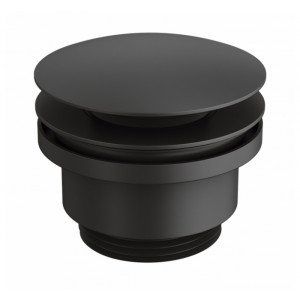 Черный донный клапан для раковины Genebre 100211 41